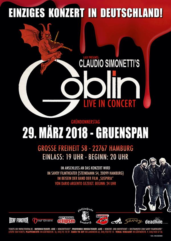 Claudio Simonettis Goblin 2018